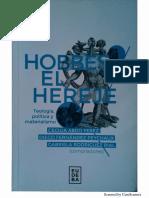 La teología política en el Leviatan - Hobbes el Hereje.pdf