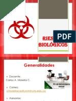 Generalidades de Los Riesgos Biologícos