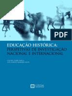 Isabel Barca EDUCAÇÃO HISTÓRICA Perspectivas de Investigación