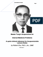 Robert Chu - Master Tung's Acupuncture for Difficult Cases (Lecture Notes)