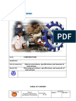 Module Common Observe Procedures,Specifications and Manuals