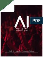 Guía de Iniciación - Artistas Inteligentes