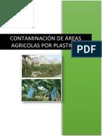 Contaminacion de Areas Agricolas Por Plasticos