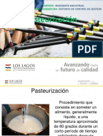 Disertación de Pasteurización