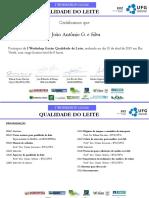 Certificado I Workshop Goias Qualidade Do Leite_Rio Verde_10.04_João Antônio G. e Silva