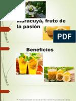 Maracuyá, Fruto de La Pasión Completo