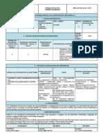 Informe Parcial de Asignatura 1ra Parcial 2do Quimestre