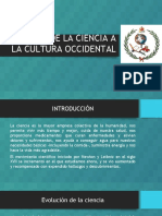 Aportes de La Ciencia a La Cultura Occidental