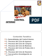 1.- Control Interno 2018