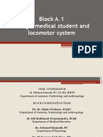 Overview-Being a Medical Student and Locomotor System-2014