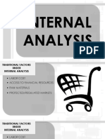 Internal Analysis for Business