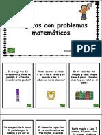 Tarjetas Con Problemas Matematicos