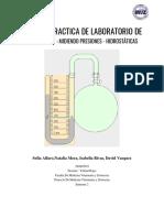Informe Física presion manometrica