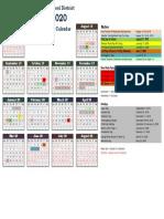 2019-2020 master calendar