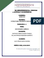 DICCIONARIO JURÍDICO-JULIOZURITA