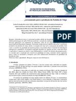 Beneficiamento e Processamento Para a Produção Da Farinha de Trigo