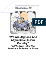 Military Resistance 8K6 Afghanistan is Our Country[1]
