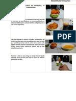 Extracción de Aceite de Mandarina