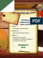 Historia de La Corrupcion en El Peru Cap. 5