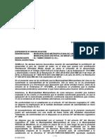 Res. 0127-2019 (Caso El Tambo Enano)