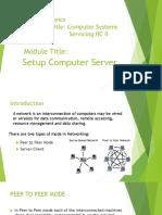 Setup Computer Server