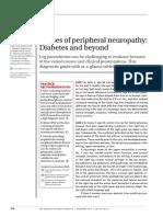 Causes of Pheripheral Neuropathy