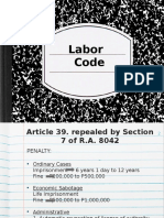 Article 39-81 ppt of Labor Code