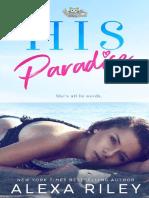 01 His Paradise - Alexa Riley( Serie Paradise)