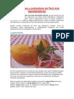 El Perú Es Un País Rico en Cultura