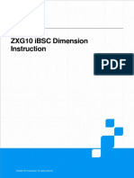 ZXG10 IBSC Dimension Instruction