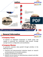 Kimia Farma Group's Business Analysis
