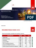 Exposicion Gestion Presupuestal Petroperu Ppto 2016