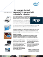 Intel-Powered Clamshell Classmate PC Product Brief