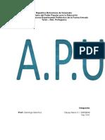 Analisis de Precios Unitarios Informe