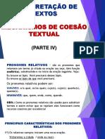 -APOSTILA- Aula 15 - Mecanismos de Coesão Textual IV