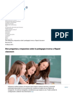 Diez Preguntas y Respuestas Sobre La 'Flipped Classroom'