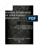 Manual de Laboratorio de Operaciones Unitarias I