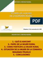 El Papel de La Mujer en La Economia Rural