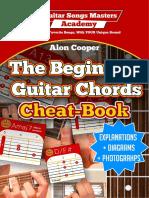 The Beginners Guitar Chords Cheat Book