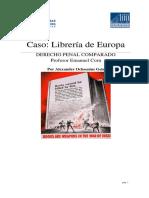 Caso Libreria de Europa DERECHO PENAL CO