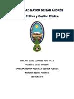 Ensayo Teoría Política-Ciencia Política y Gestión Pública