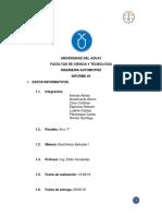 Informe Luces Altas-bajas