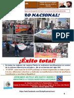 Boletín La Palabra Clasista N° 25-SUTEP Hco