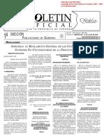 Reglamento General de Los Institutos de Nivel Superior No Universitario