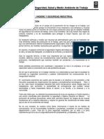 Manual de Seguridad, Salud y Medio Ambiente de Trabajo