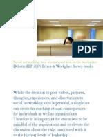 Us 2009 Ethics Workplace Survey 220509