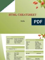 HTML Cheatsheet