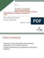 Tema 4 Rx y Tc Patron Intersticial, Tbc, Fibrosis, Asma