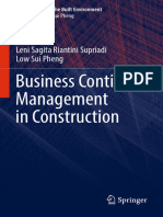 (Management in the Built Environment) Leni Sagita Riantini Supriadi,Low Sui Pheng (auth.) -  Business Continuity Management in Construction-Springer Singapore (2018).pdf