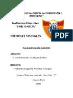 canchis provincia